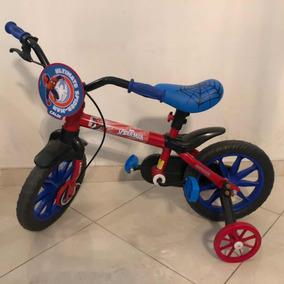 172055b4a Bicicleta Homem Aranha Aro 12 - Ciclismo no Mercado Livre Brasil