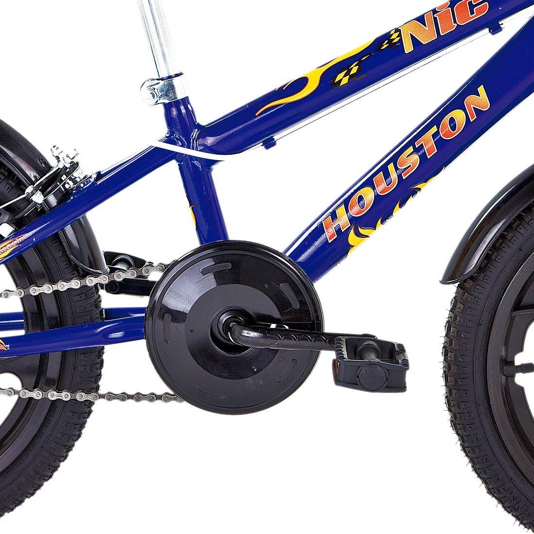 c293c020d bicicleta aro 16 houston nic azul com bolsa e capacete. Carregando zoom.