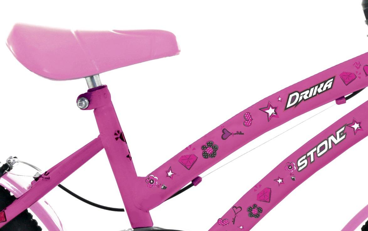 103c9d9b4 bicicleta aro 16 infantil drika stone bike. Carregando zoom.