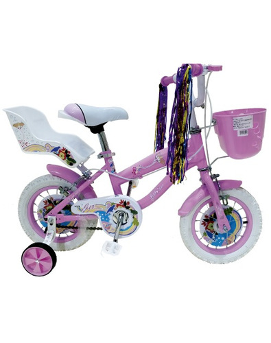 bicicleta aro 16  niña