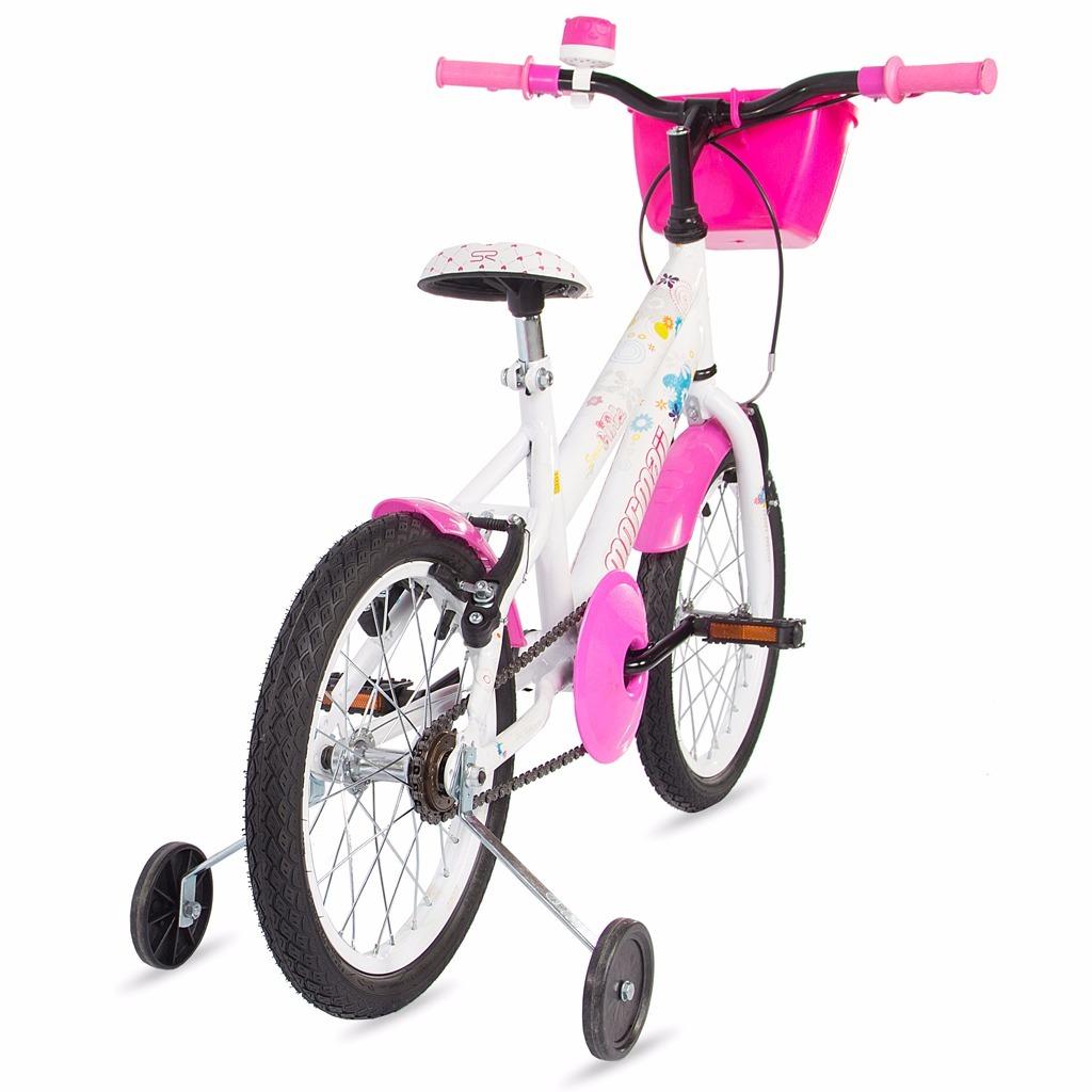 ceb332ea480a5 Bicicleta Aro 16 Sweet Girl Mormaii C  Cesta - R  489,00 em Mercado ...