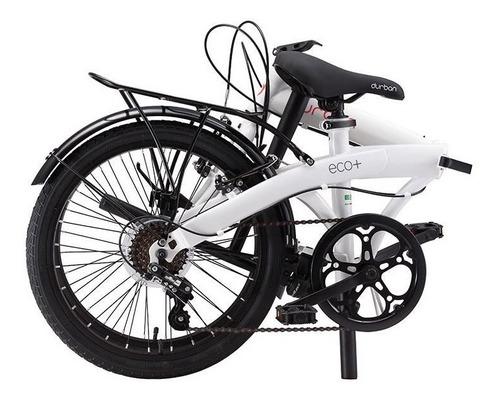 bicicleta aro 20 dobravel 6 marchas nautika eco+ durban