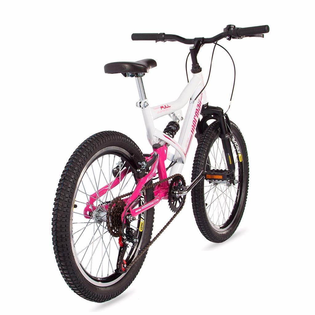 bicicleta aro 20 full fa-240 mormaii fem. c  suspensão. Carregando zoom. 739386ba37