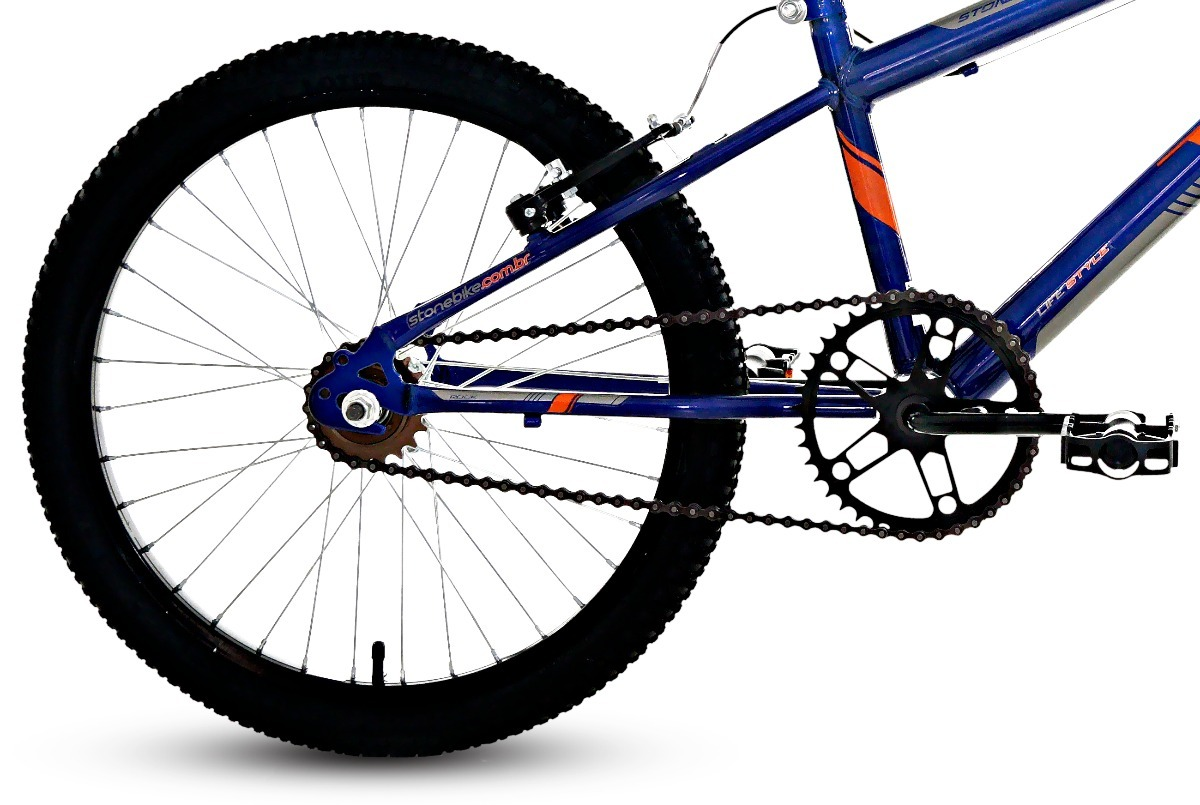 7c7b1ce58 bicicleta aro 20 infantil rock stone bike. Carregando zoom.
