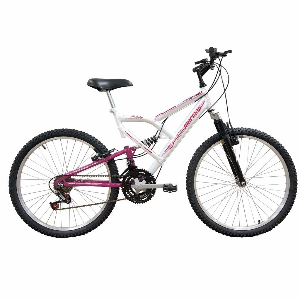 bicicleta aro 24 full fa-240 mormaii fem. c  suspensão. Carregando zoom. 003d1db481