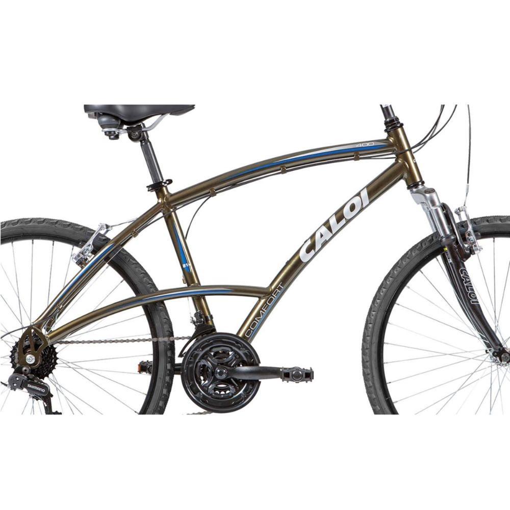905d05985 bicicleta aro 26 - 21 marchas 400 lazer verde - caloi. Carregando zoom.