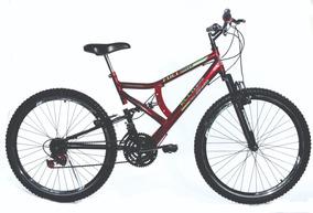 Bicicleta Aro 26 Aero Full Suspension 21 Marchas Ello Bike