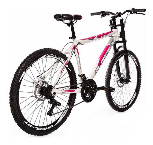 bicicleta aro 26 alfameq stroll  freio à disco susp downhill