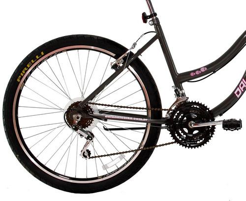 bicicleta aro 26 feminina beach cesta 18 marchas