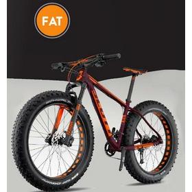 Bicicleta Aro 26 Thor Fat Llanta Ancha Llamativa Para Playa