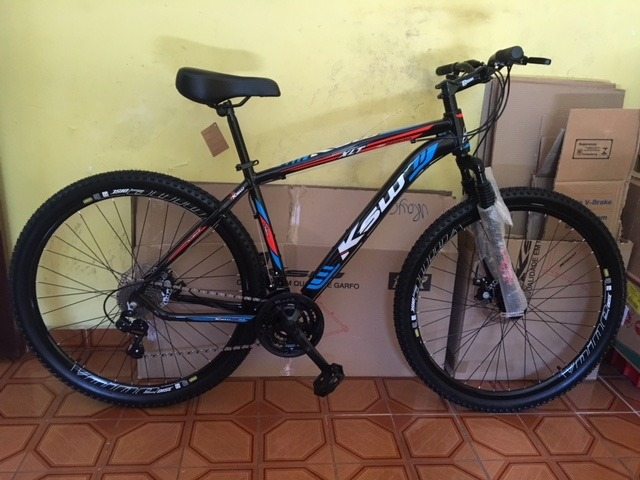 f7c1dc64a Bicicleta Aro 29 21v C susp+disco Cambios Shimano (promoçao) - R  989