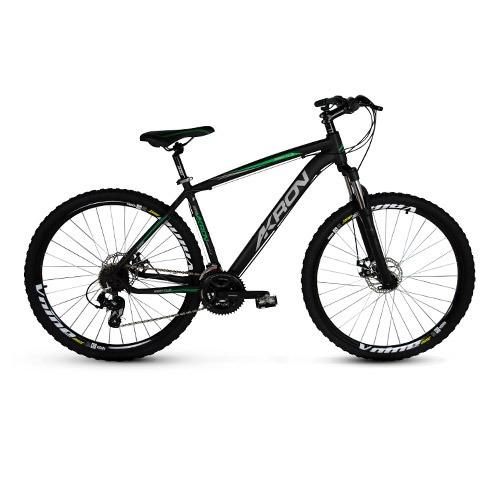bicicleta aro 29 alumínio akron 24 velocidades freio disco