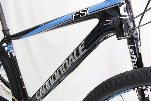 bicicleta aro 29 cannondale lefty f-si 2 xx1 eagle 12v t19