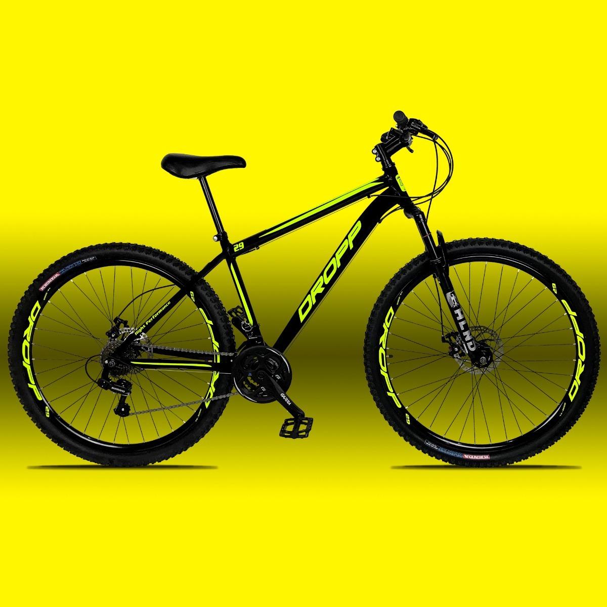 bc957f940 Bicicleta Aro 29 Dropp Em Aco Câmbio Shimano 21v Freio Disc - R  849 ...
