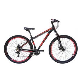 Bicicleta Aro 29 Gta 21v Kit Shimano Freio Disco 15 Vermelha