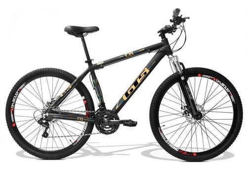 bicicleta aro 29 gts m1 obstáculo 1.0 freio á disco 24v
