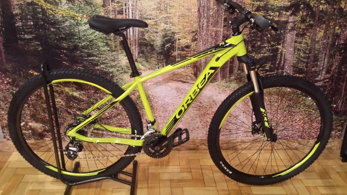 9e68eb4ae Bicicleta Aro 29 Orbea Mx-50 2018 Pistache preto Tamanho M l - R ...