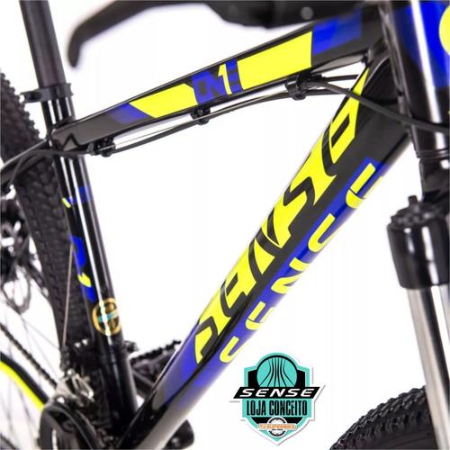 bicicleta aro 29  sense one hard tail   2019   t/ 15-17-19