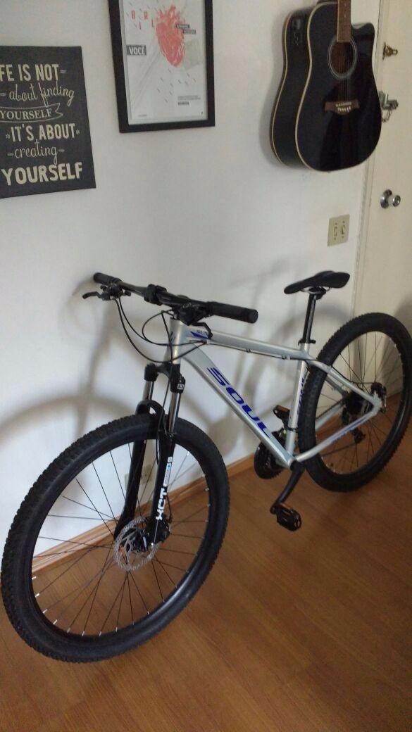 1045258da bicicleta aro 29 soul sl70- nunca usada-preço abaixo mercado. Carregando  zoom.