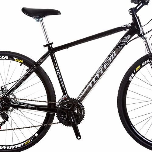 bicicleta aro 29 totem quadro alumínio 24v kit shimano disco