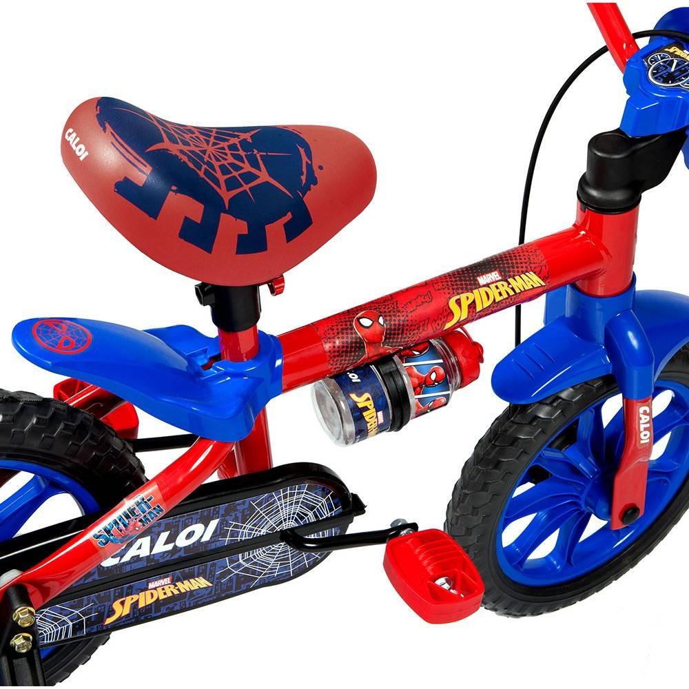 797af743c bicicleta infantil aro 12 caloi homem aranha com rodinhas. Carregando  zoom... bicicleta aro caloi. Carregando zoom.