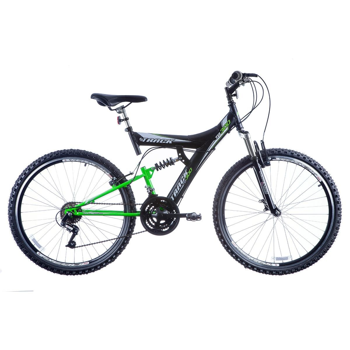 81b2ba451 Bicicleta Aro 26 Tb 300 Xs Suspensão Dupla 18v - Track Bikes - R ...