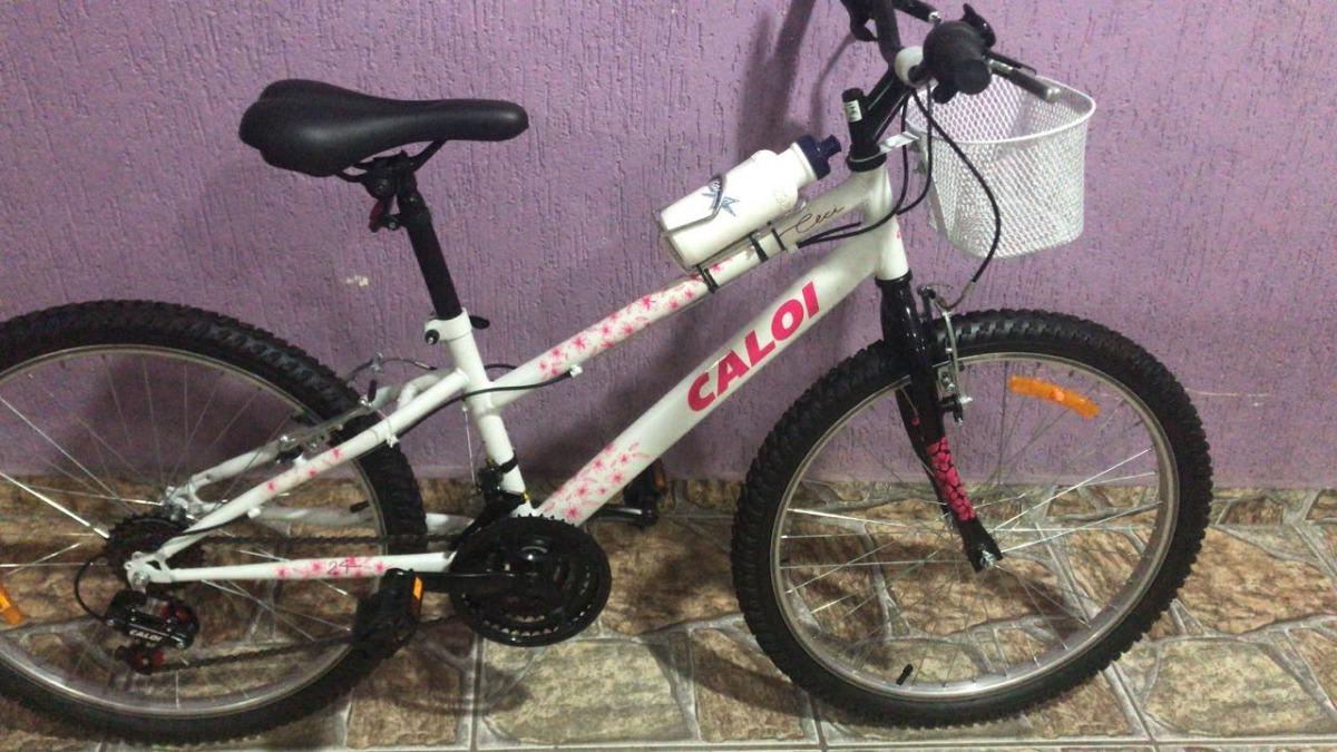 b1436b3c72719 bicicleta aro24 caloi ceci c 21 marchas montada frete grátis. Carregando  zoom.