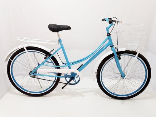 bicicleta aro26 feminina rios retro varias cores