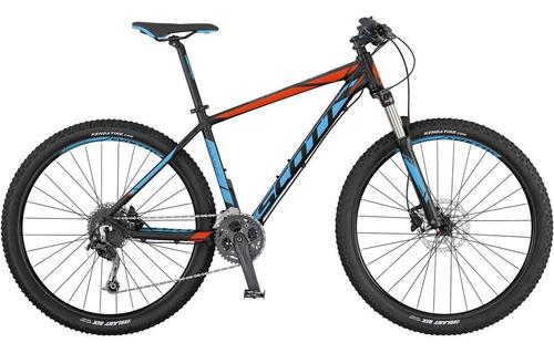bicicleta aspect 930 tamanho g 27v pto/azul a18 - scott