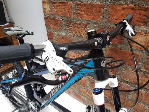 bicicleta astro enduro fss 27.5 carbono
