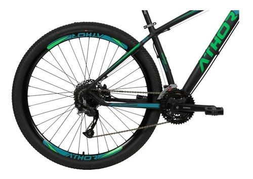 bicicleta athor android aro 29 shimano altus 27v freio disco