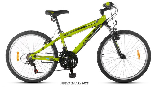 bicicleta aurora mountain bike 20 asx rod20 envio gratis