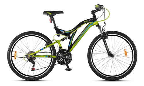 bicicleta aurora r26 600dsx dob.susp 18v