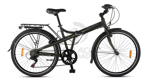 bicicleta aurora rod 26 plegable aluminio folding 7v o1