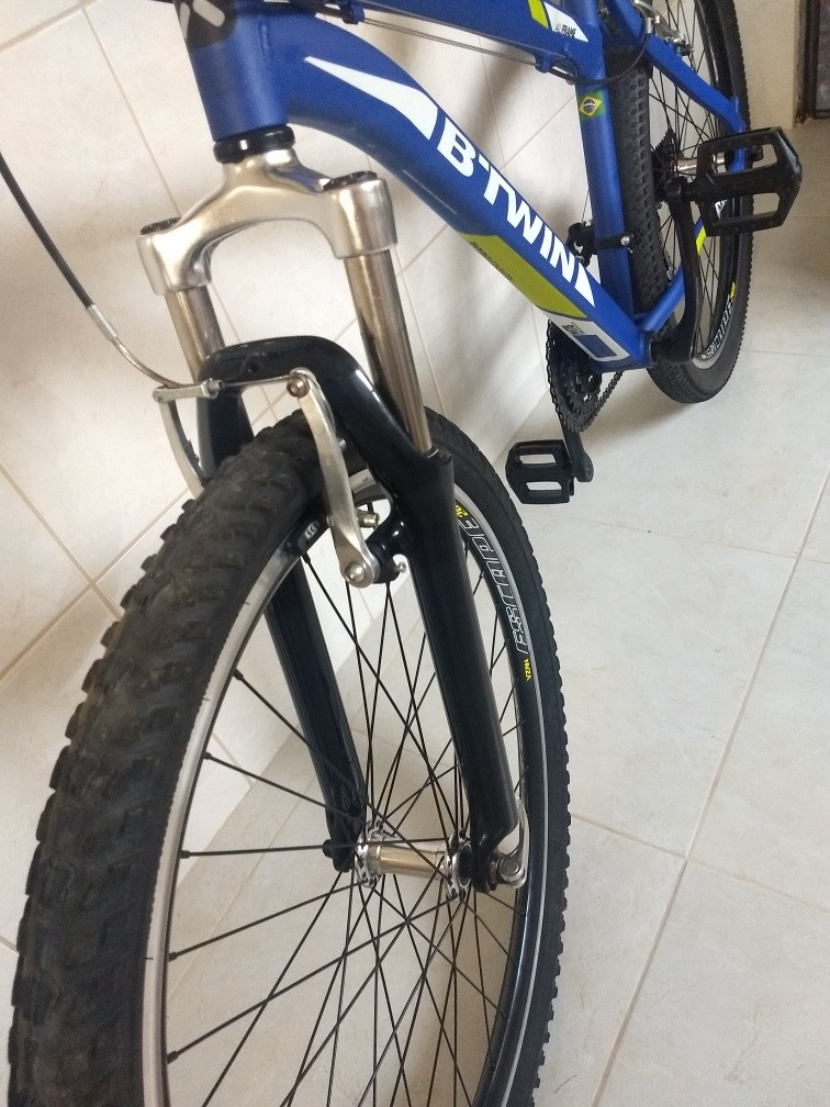 81429417d bicicleta b-twin - rockrider 340. Carregando zoom.