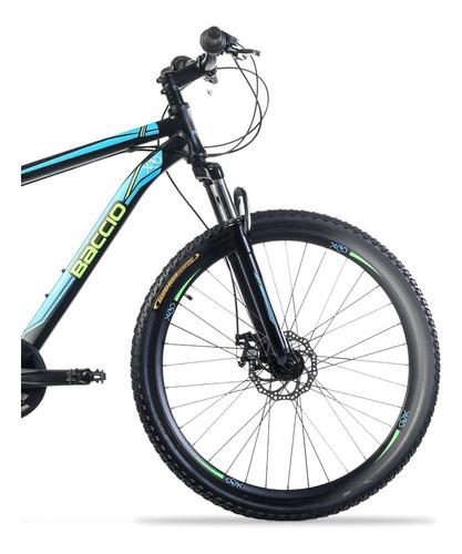 bicicleta baccio xco man 27,5 freno de disco
