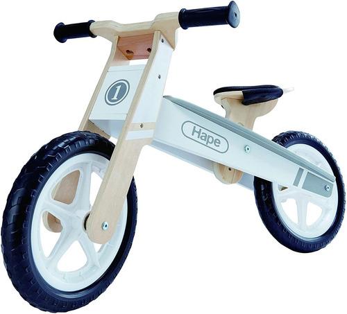 bicicleta balanceadora hape e1050 madera sin pedales edu