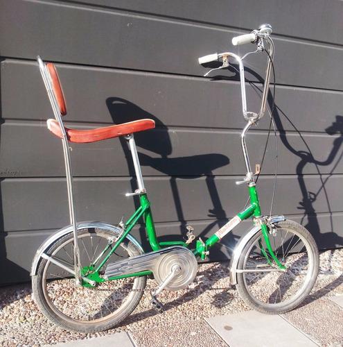 bicicleta banana chopera  plegable rod 20  tipo