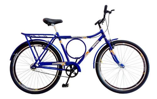 bicicleta barra forte circular com aros aero sem marcha