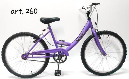 bicicleta bassano cross niña rodado 24