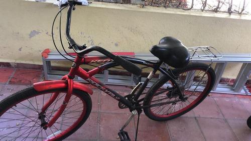 bicicleta beach kent rockvale men's cruiser bike aro 26