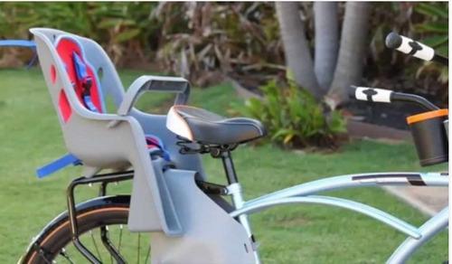 bicicleta bebés silla para