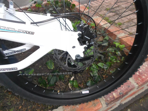 bicicleta benotto doble suspensión disco hidrauldico downhil