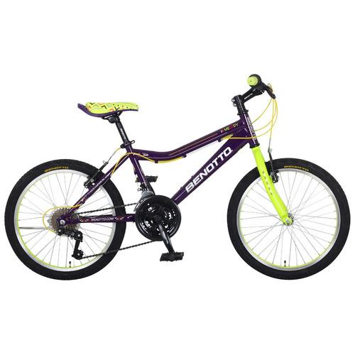 bicicleta benotto melody para niñas r20 frenos v