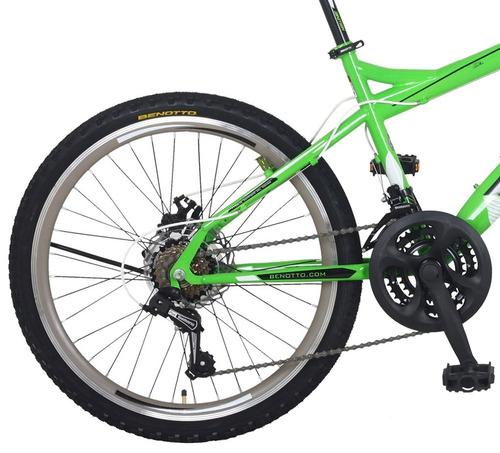bicicleta benotto montaña