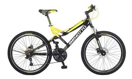 bicicleta benotto navy mtb acero r26