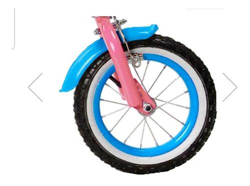 bicicleta besatti niña cuore aro 12 marco 7.4  rosada 1v