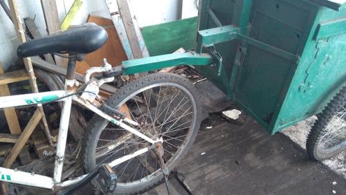 bicicleta besatti y carrito