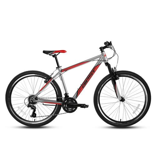 bicicleta best de hombre lazzo aro 27.5 plata/rojo