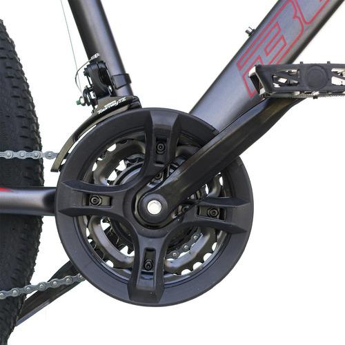 bicicleta best de hombre mtb baldur aro 26 gris